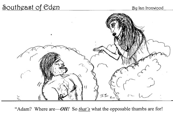 Southeast of Eden Cartoon