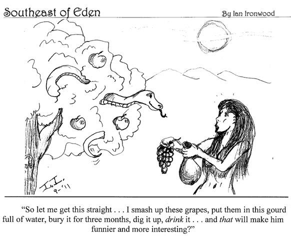 Southeast of Eden Cartoon