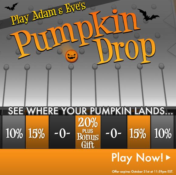 Play Adam & Eve's Pumpkin Drop