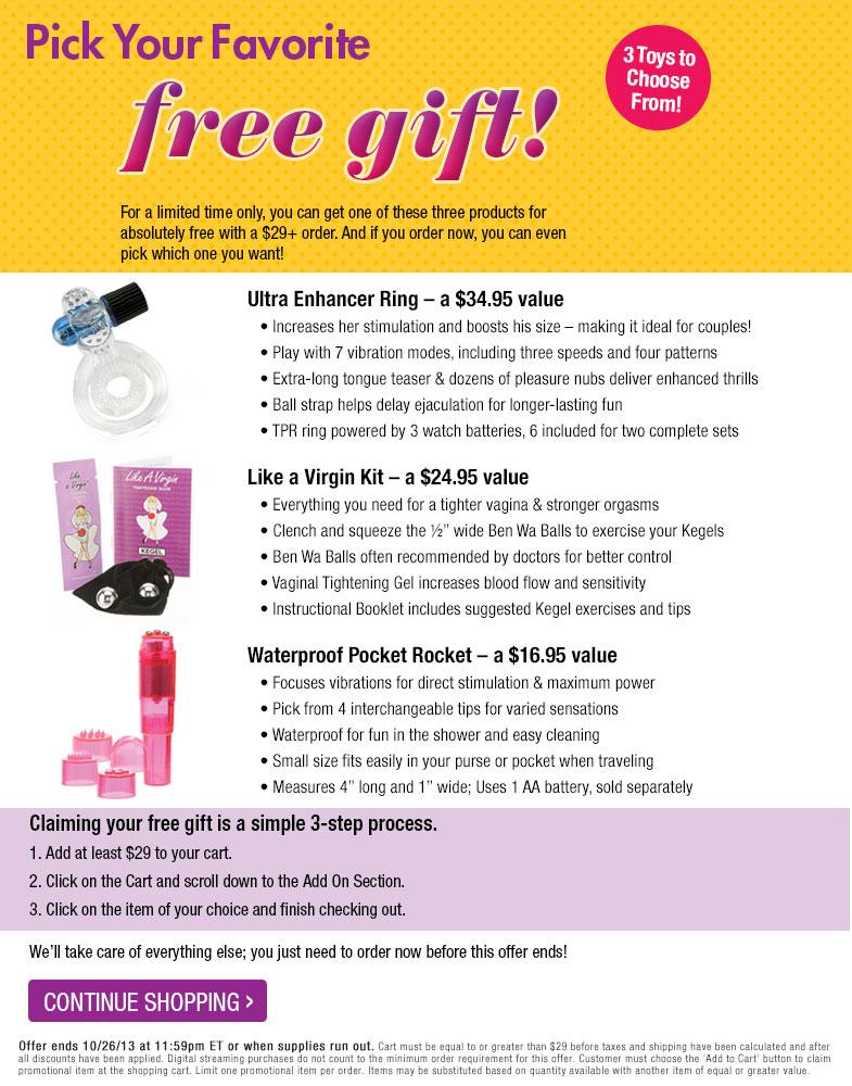 Pick Your FREE Kit