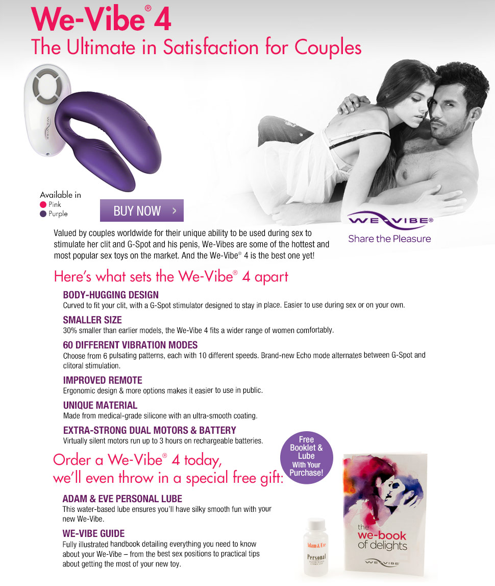 Discover the new We Vibe 4