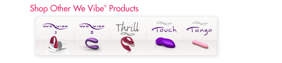 Shop Other We Vibe Products