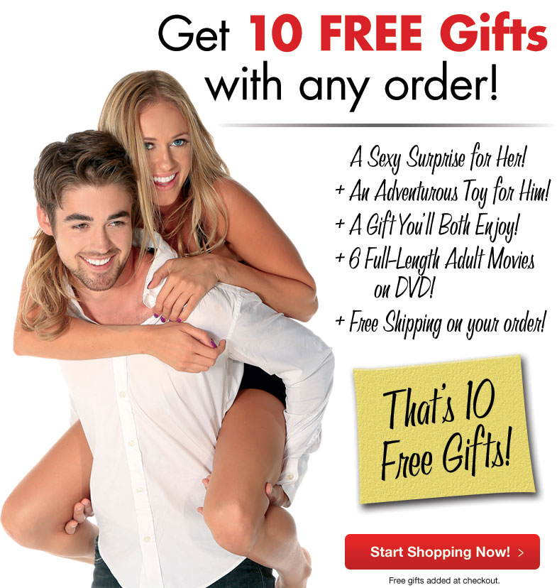 Welcome to Adam & Eve with 10 FREE Gifts