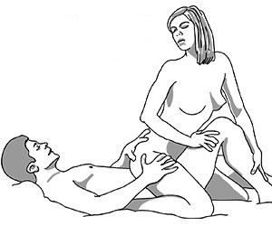 Straddling Tree Sex Position