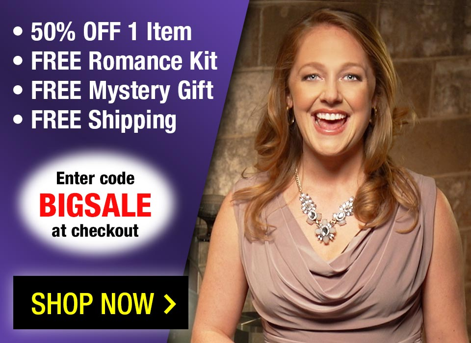 50% Off 1 item + 3 FREE DVDs + FREE Gifts + FREE Shipping