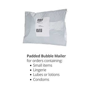 discreet mailing envelope