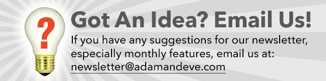 Got an Idea? Email Us!