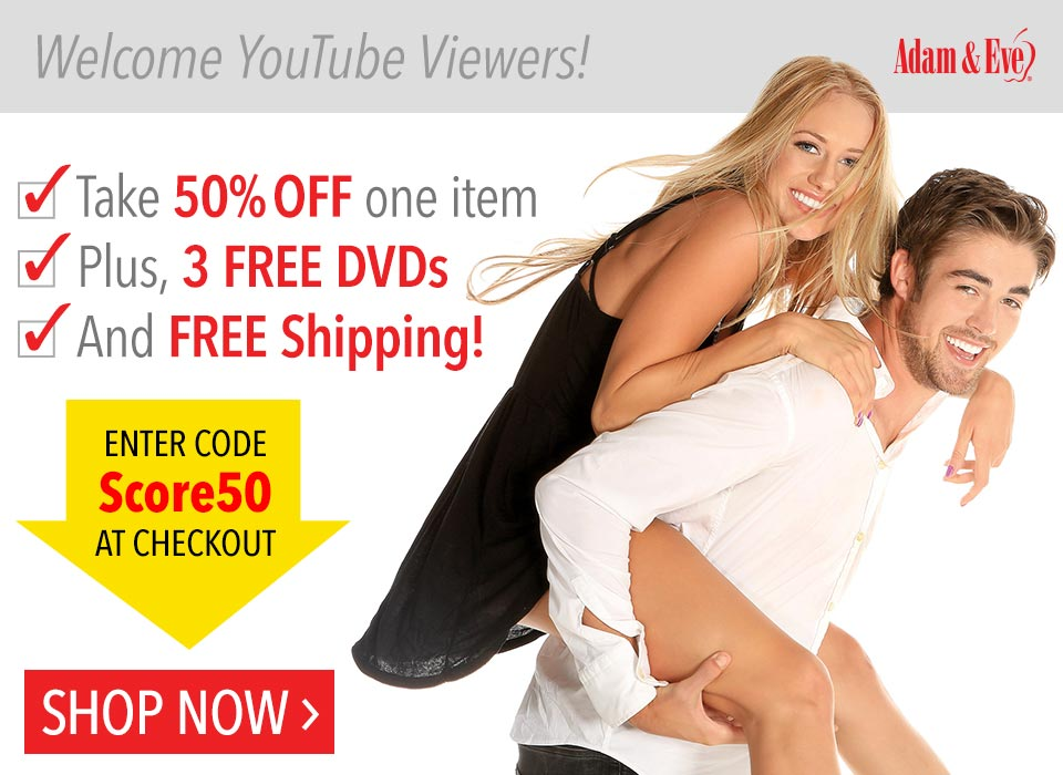 50% Off 1 item + 3 FREE DVDs + FREE Shipping
