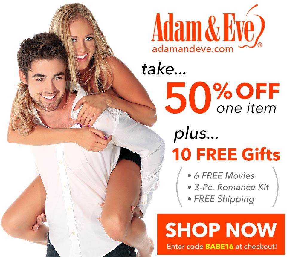 50% Off 1 item + FREE Stuff + FREE Shipping