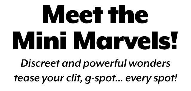 Meet the Mini Marvels