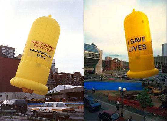condom balloon