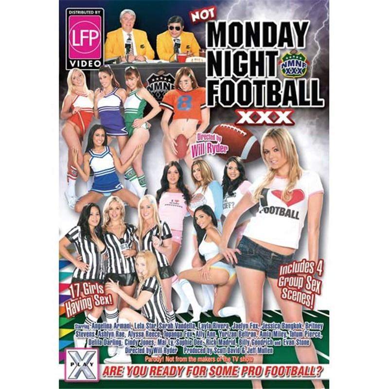 Not Monday Night Football XXX DVD