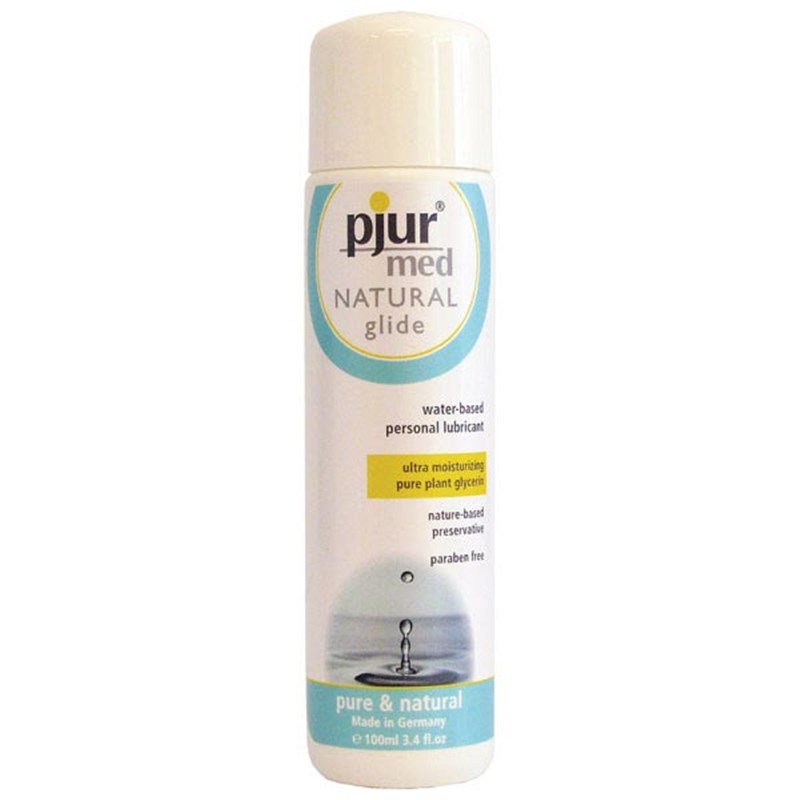 Pjur med NATURAL Water-Based Lubricant