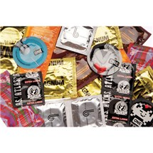 Big Man's Condom Sampler