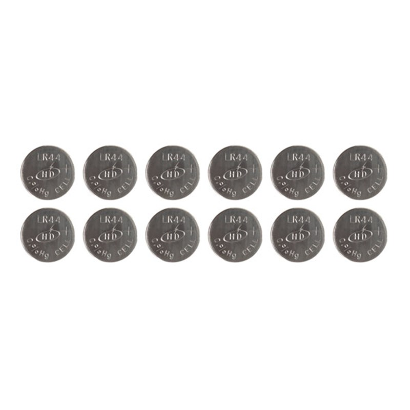 LR44 Batteries Economy 12 Pack