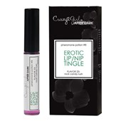crazy girl after dark erotic lip nip tingle
