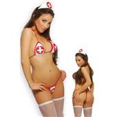 naughty nurse bikini set
