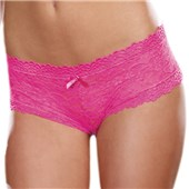 cheeky lace appeal hipster panty