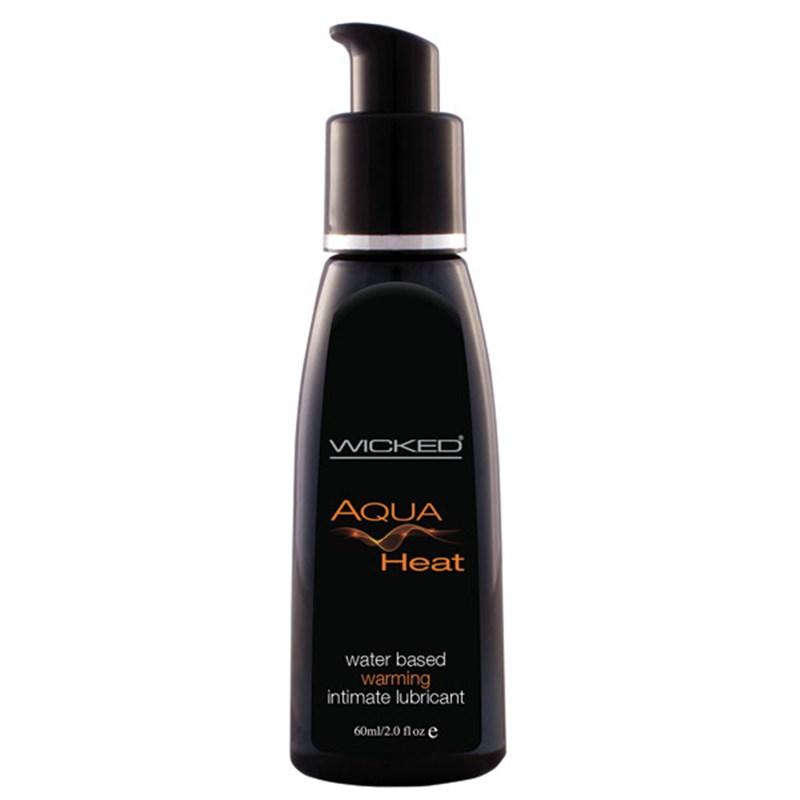 Wicked Aqua Heat Waterbased Lube