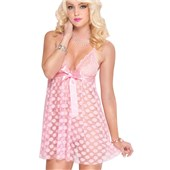 pretty in dots babydoll