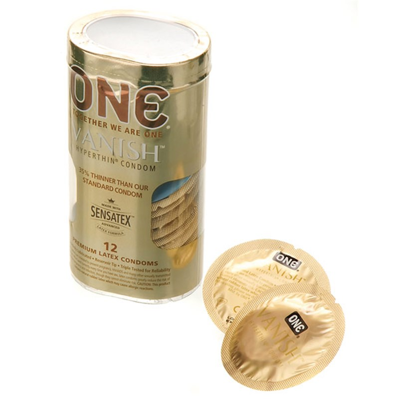 One Vanish Condoms 12 Count