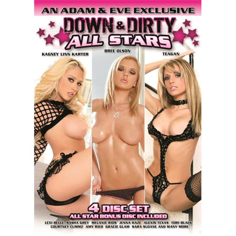 Down & Dirty All Stars 4 Pack