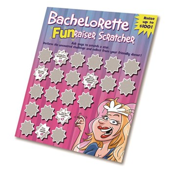 Bachelorette FunRaiser Scratch Tickets