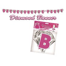 Bachelorette Party Diamond Banner