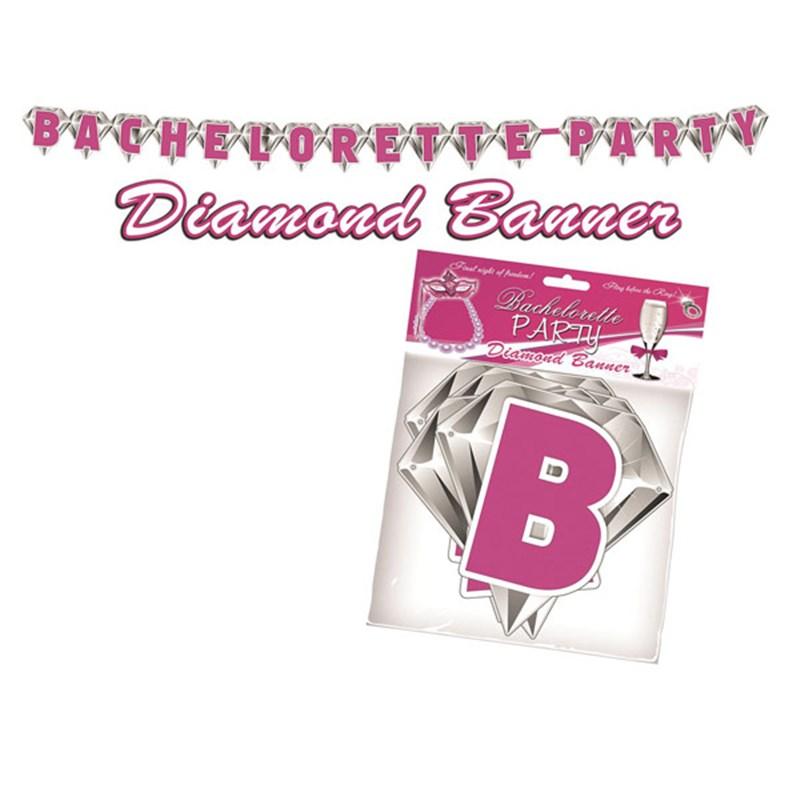 Image of Bachelorette Party Diamond Banner