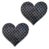 shiney dots pasties