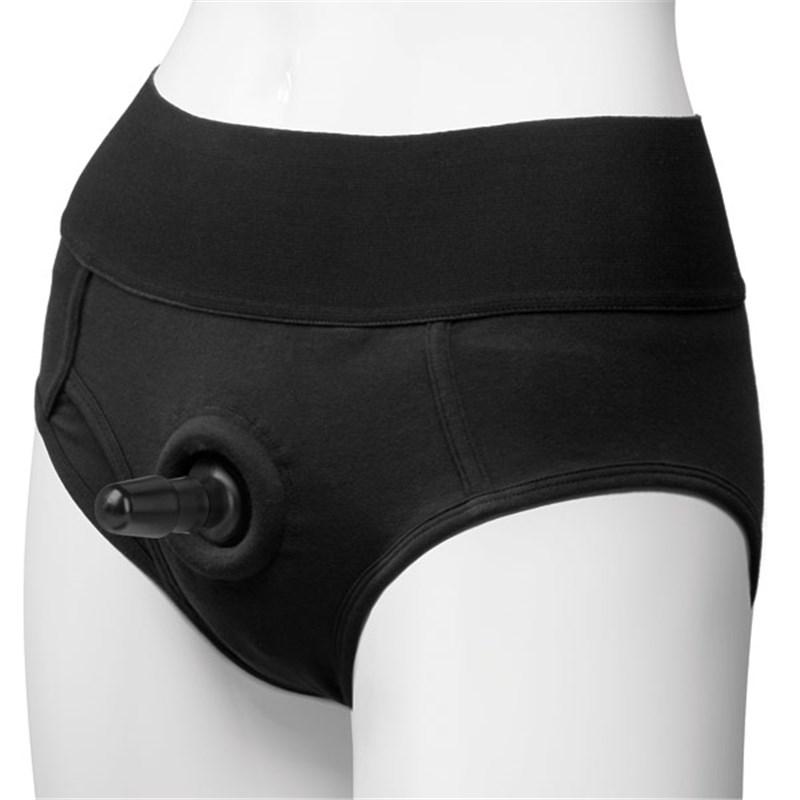 Vac-U-Lock Panty Harness Brief
