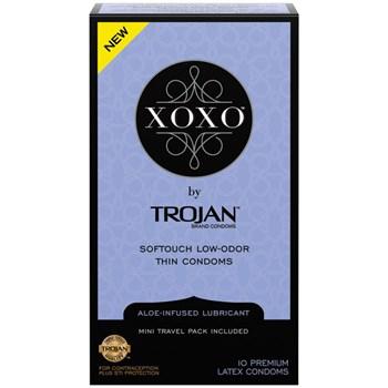 Trojan XOXO Condoms 10Ct