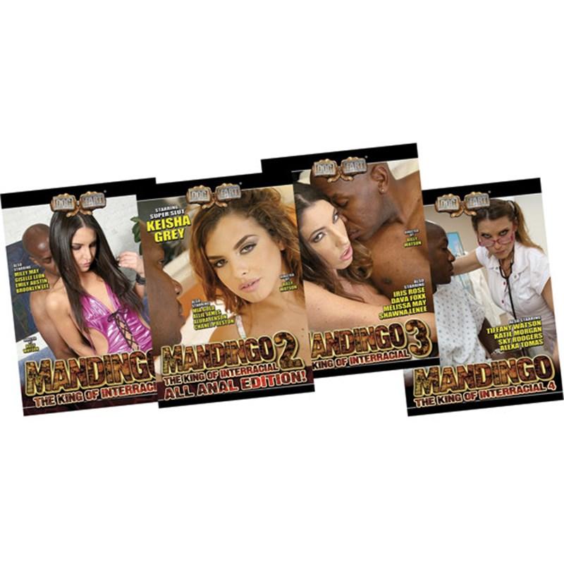 Mandingo: King Of Interracial 4 Pack