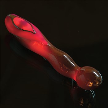 A&E Luminous G-Spot Vibe glow red in dark