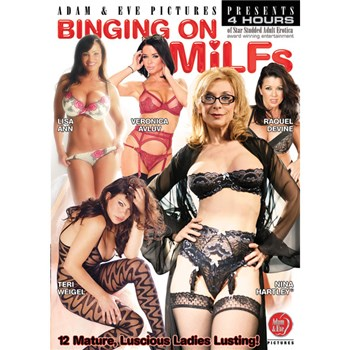 Binging On MILFs box cover