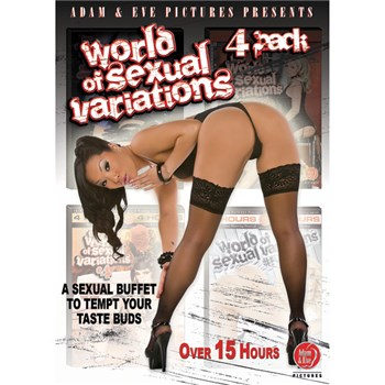 World Of Sexual Variations 4-Pack box cover