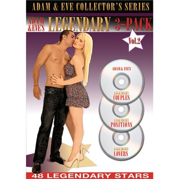 Adam & Eve's Legendary 3-Pack Vol. 2 box cover
