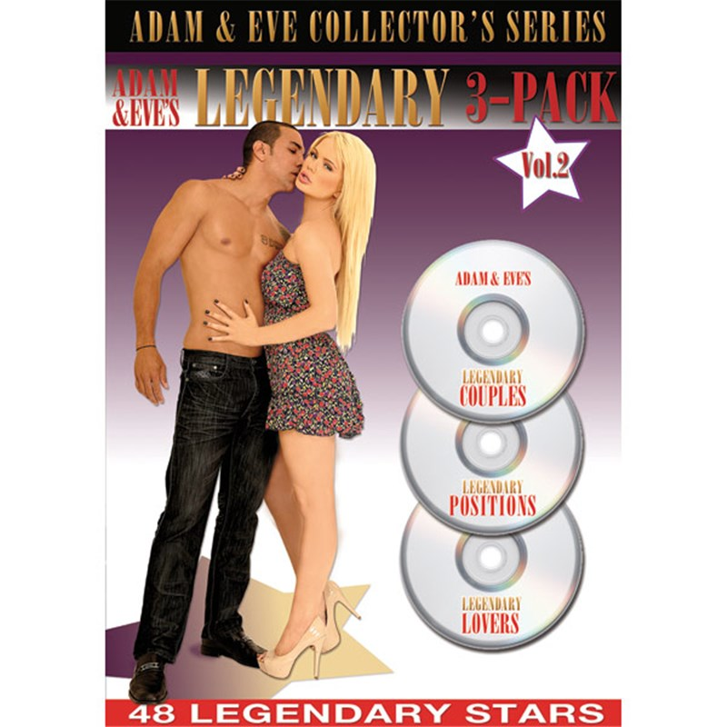 Adam & Eves Legendary 3-Pack Vol. 2