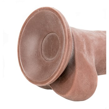 Adam's True Feel Dildo close-up suction cup