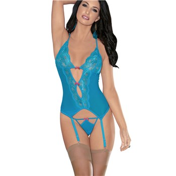 Adam & Eve All Night Tease Bustier full front view