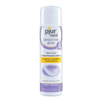 Pjur Med Sensitive Water-Based Lubricant bottle shot