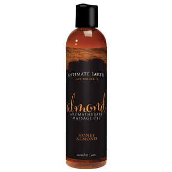 Intimate Earth Aromatherapy Massage Oil almond