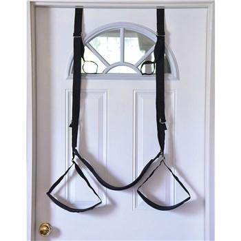A&E Naughty Couples Door Swing hanging on door