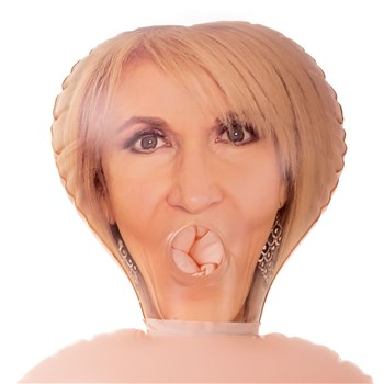 Blowups Granny Love Doll Showing Mouth Openning