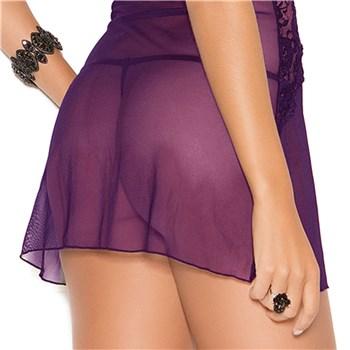 Violet Vixen Babydoll back bottom