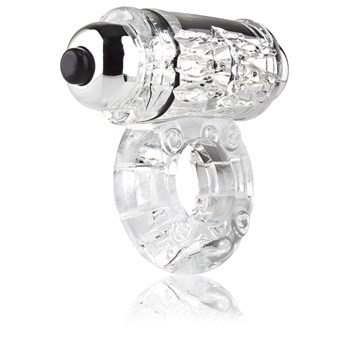 O Wow Vibrating Ring clear