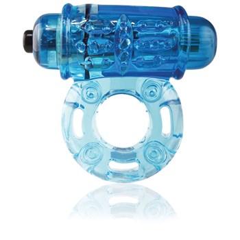 O Wow Vibrating Ring blue