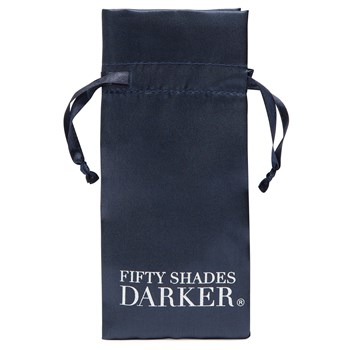 Fifty Shades Darker Beaded Chain Nipple Clamps storage bag