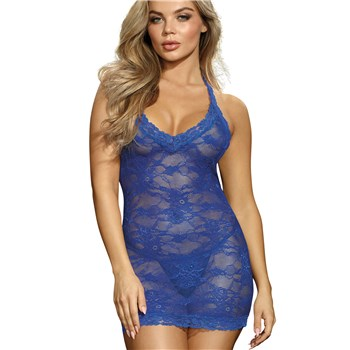 Blue Beauty Chemise Full Front