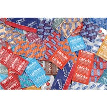Pleasure Condom Sampler 75-pack